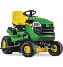 john deere e120 42 in 20 hp v twin gas hydrostatic lawn tractor [ 1000 x 1000 Pixel ]