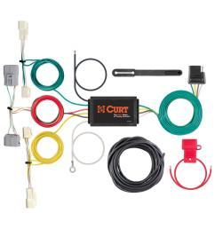 custom wiring harness 4 way flat output  [ 1000 x 1000 Pixel ]
