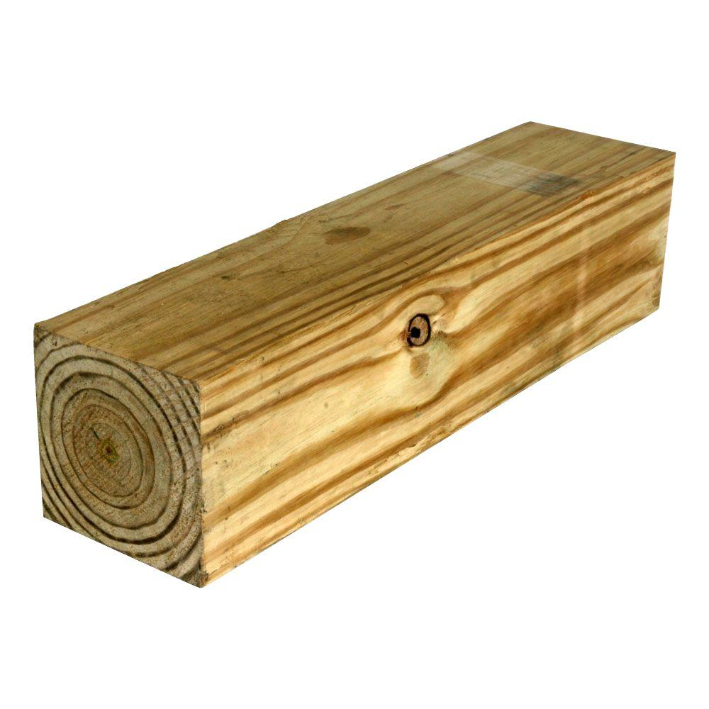 6 In X 6 In X 10 Ft Pressuretreated Pine Lumber