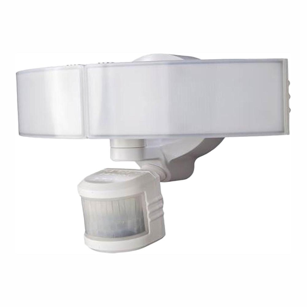 hight resolution of 270 degree white led bluetooth motion outdoor security light