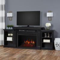 Real Flame Tracey Grand 84 in. Electric Fireplace TV Stand ...
