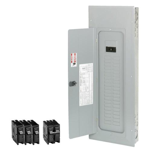 small resolution of eaton br 200 amp 40 space 50 circuit indoor main breaker loadcenter with cover