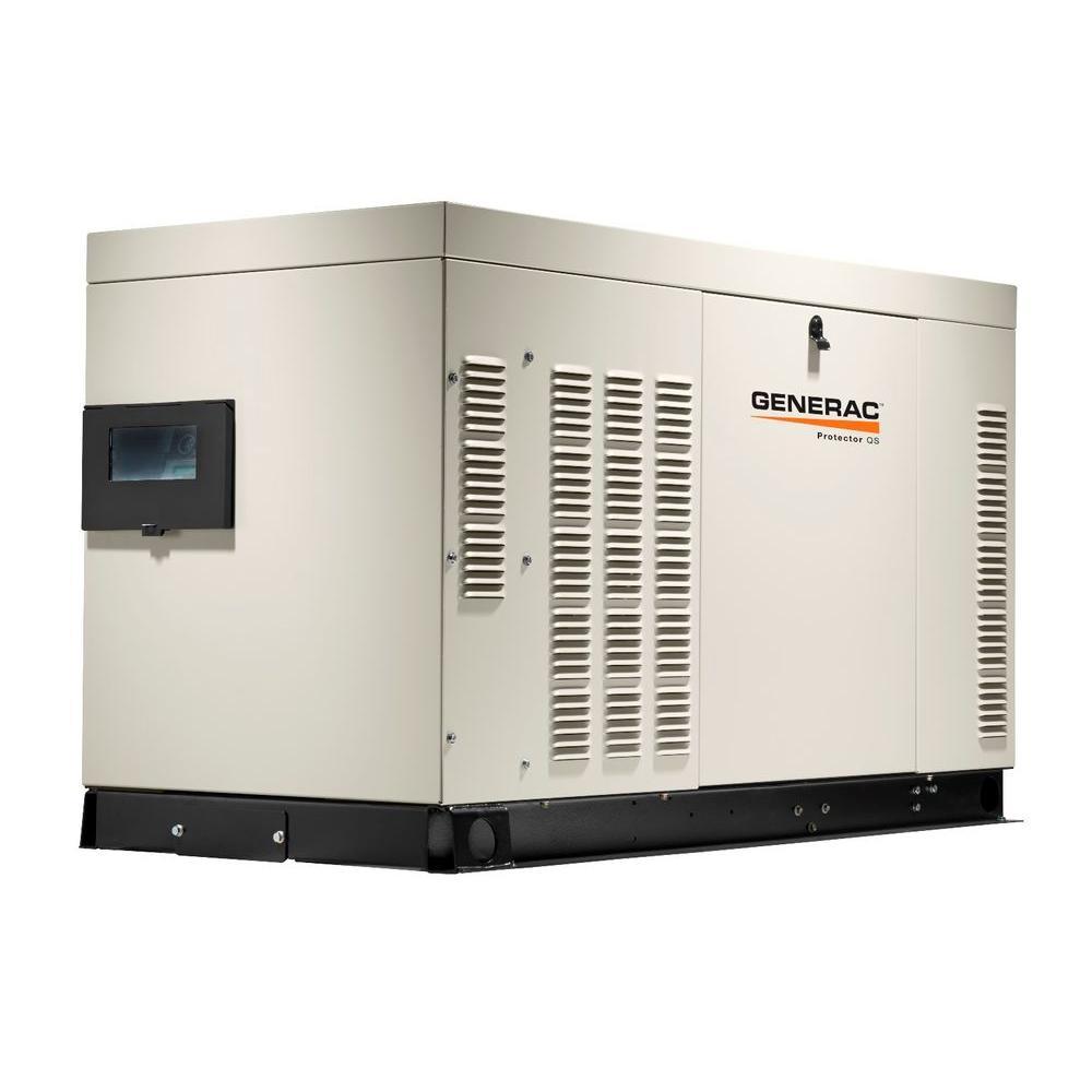 medium resolution of generac 22 000 watt 120 volt 240 volt liquid cooled standby generator single