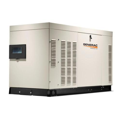 small resolution of generac 22 000 watt 120 volt 240 volt liquid cooled standby generator single