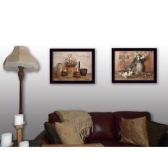 Framed Wall Art For Living Room Unit Furniture Uk 14 In X 36 Simple Blessings By Billy Jacobs Printed V273 712 The Home Depot