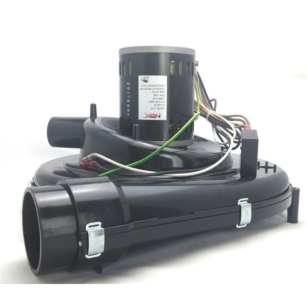 medium resolution of 1 18 hp oem replacement furnace flue exhaust venter blower