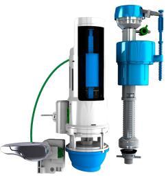next by danco water saving toilet total repair kit with dual flush valve [ 1000 x 1000 Pixel ]