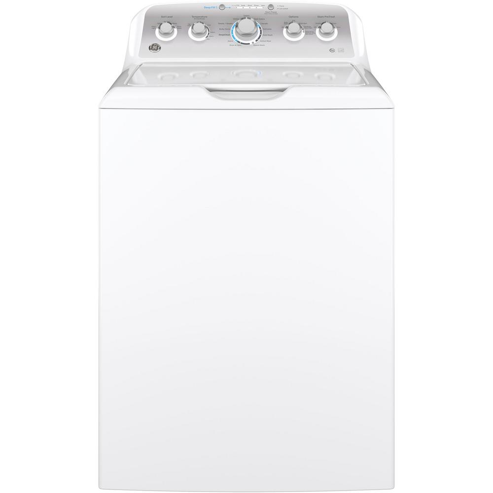 medium resolution of high efficiency white top load washing machine with stainless steel basket energy star
