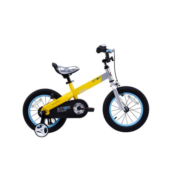 Royalbaby 14 In. Wheels Matte Buttons Kid' Bike Boy' Bikes And Girl' With Training
