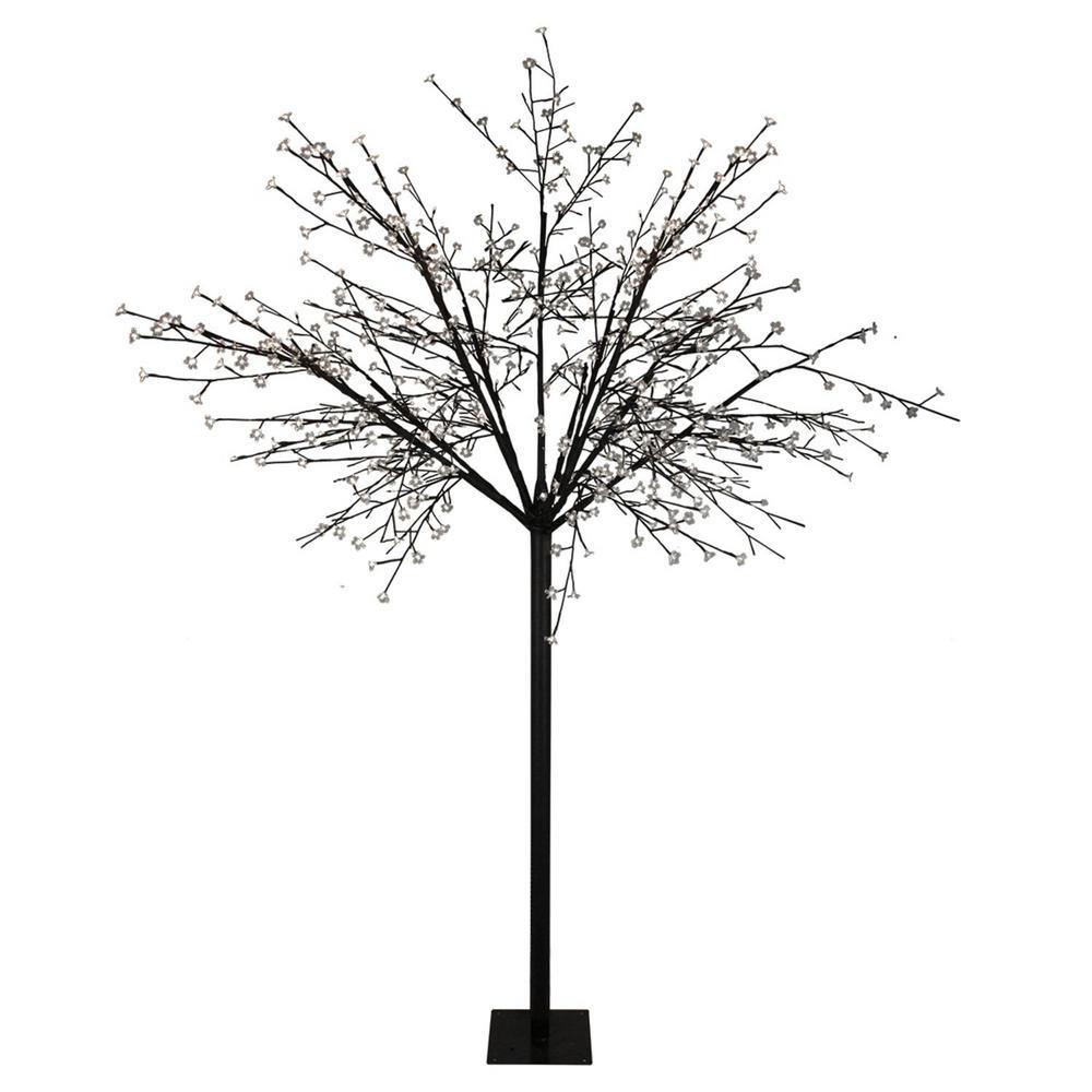 Northlight 8 ft. Multi-Function LED Lighted Cherry Blossom