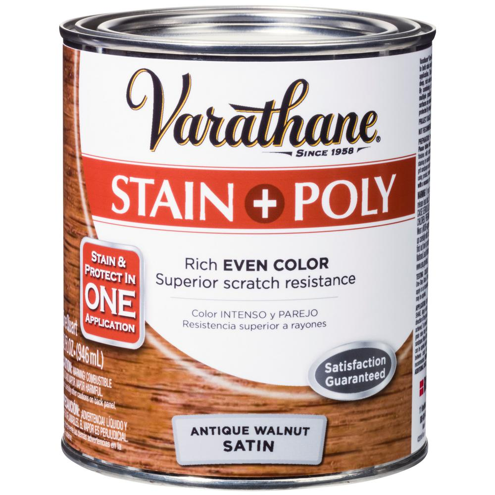Water Based Urethane Over Oil Based Stain
