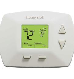 honeywell deluxe digital non programmable thermostat [ 1000 x 1000 Pixel ]