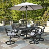 Home Styles Largo 7-Piece Outdoor Patio Dining Set with ...