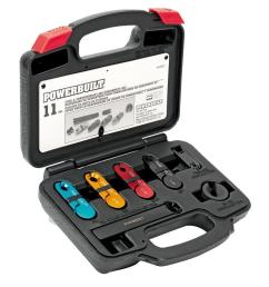 powerbuilt fuel and transmission line disconnect kit [ 1000 x 1000 Pixel ]