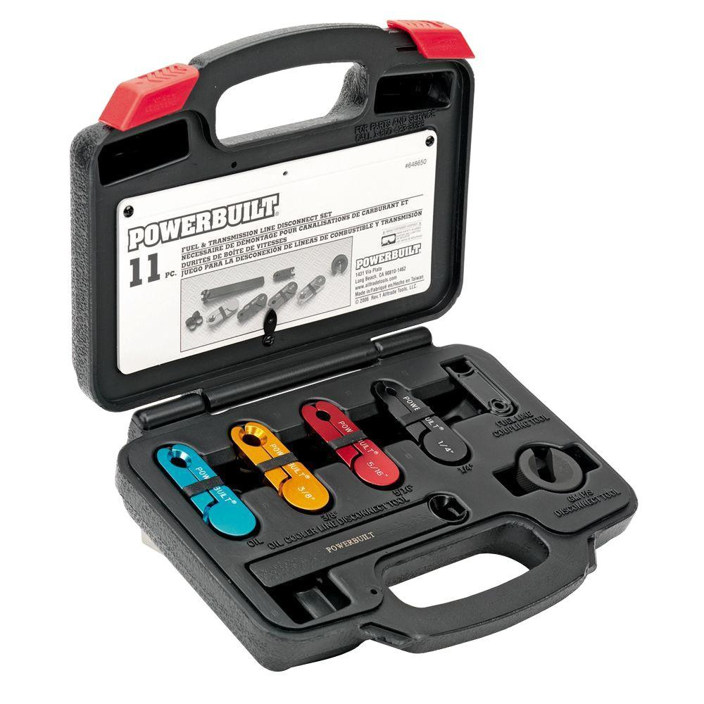 hight resolution of powerbuilt fuel and transmission line disconnect kit