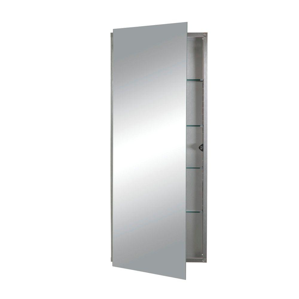 Illusion 15 in W x 36 in H x 314 in D Recessed 4