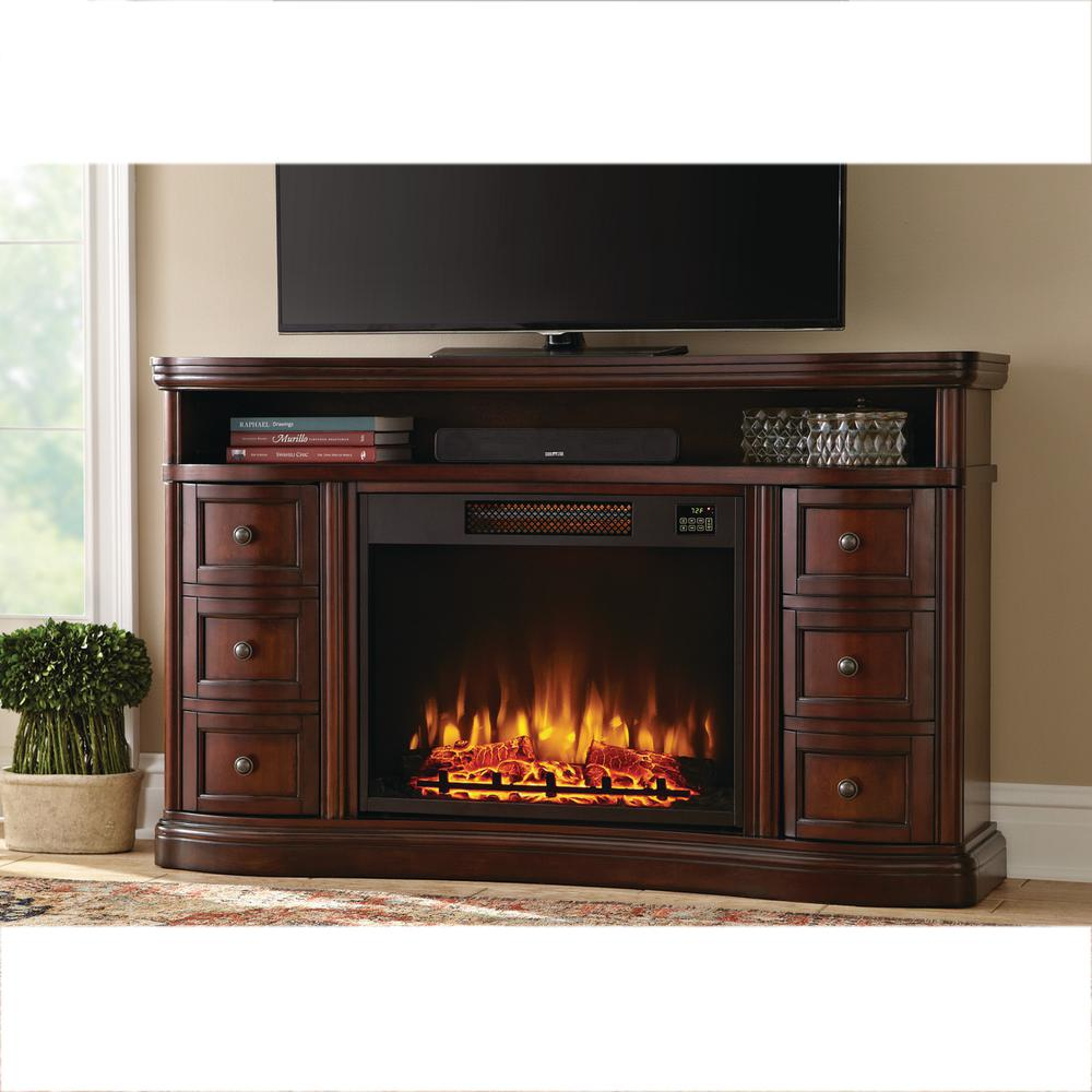 Home Decorators Collection Charleston 60 in TV Stand