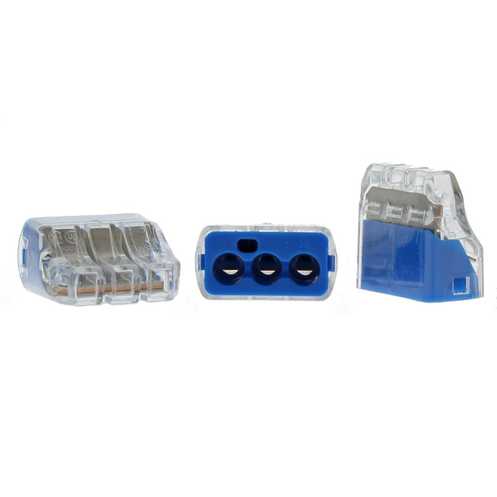 medium resolution of in sure push in wire connector 10 awg 3 port 150 jar