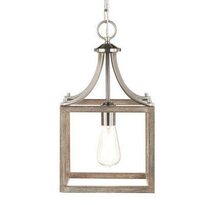 kitchen pendant light fixtures hgtv remodels lights lighting the home depot 1 brushed nickel mini with painted weathered gray
