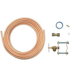 whirlpool copper refrigerator water supply kit [ 1000 x 1000 Pixel ]
