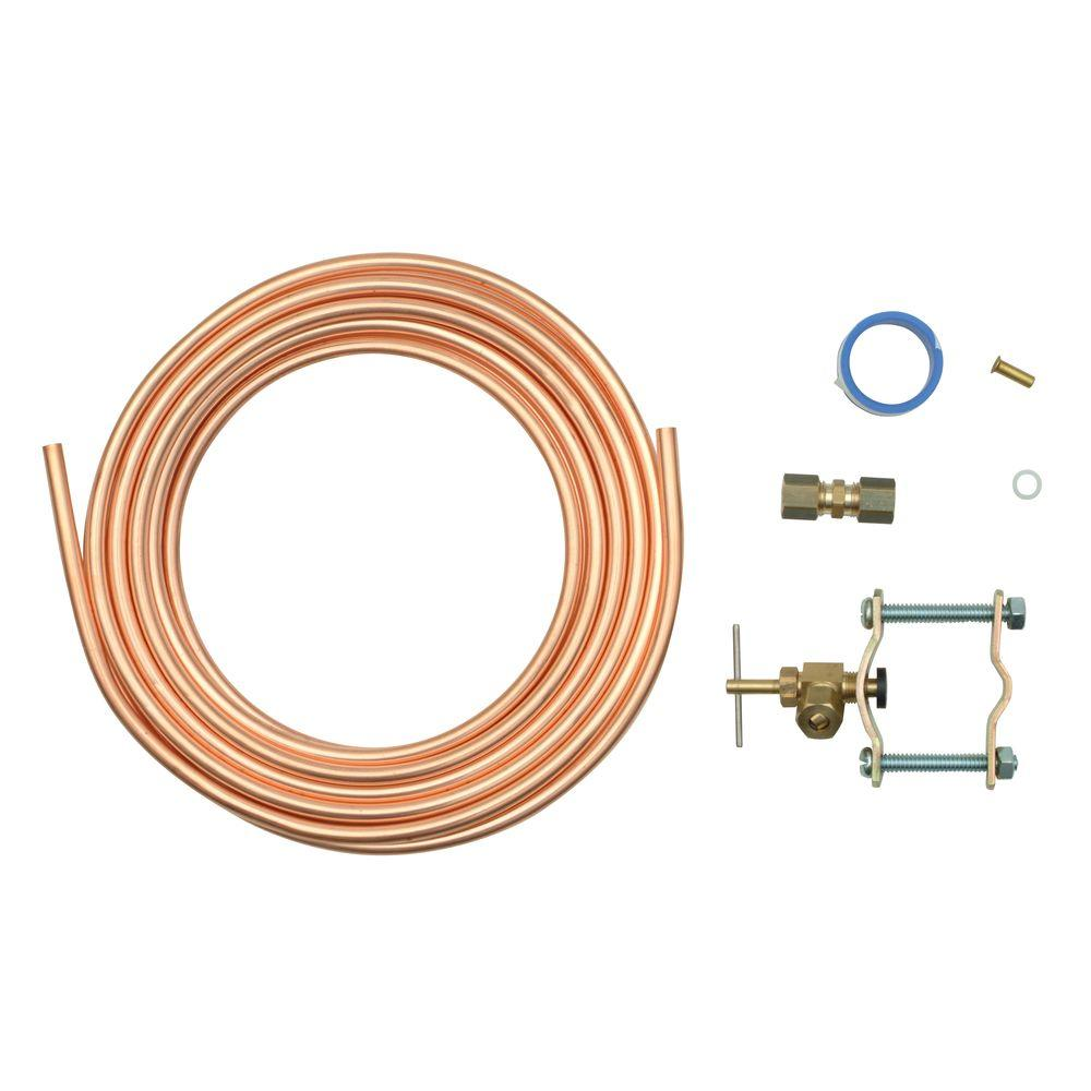hight resolution of whirlpool copper refrigerator water supply kit