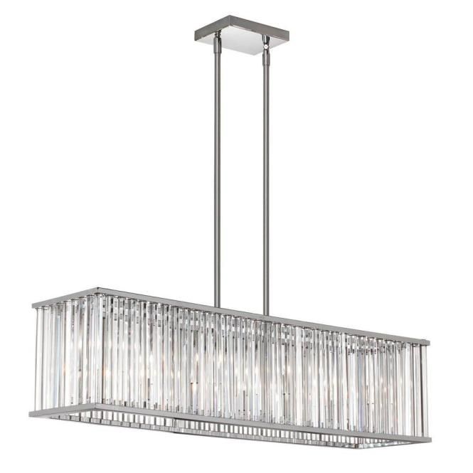 Radionic Hi Tech Aruba 7 Light Polished Chrome Horizontal Crystal Chandelier Aru 306hp Pc The Home Depot