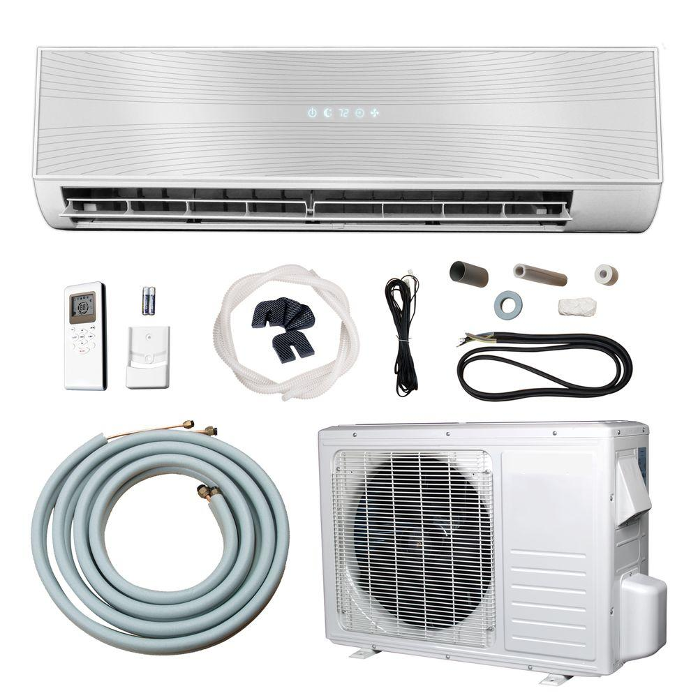 hight resolution of 12 000 btu 1 ton ductless mini split air conditioner and heat pump 220 volt 60hz