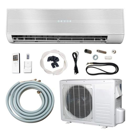 small resolution of 12 000 btu 1 ton ductless mini split air conditioner and heat pump 220 volt 60hz