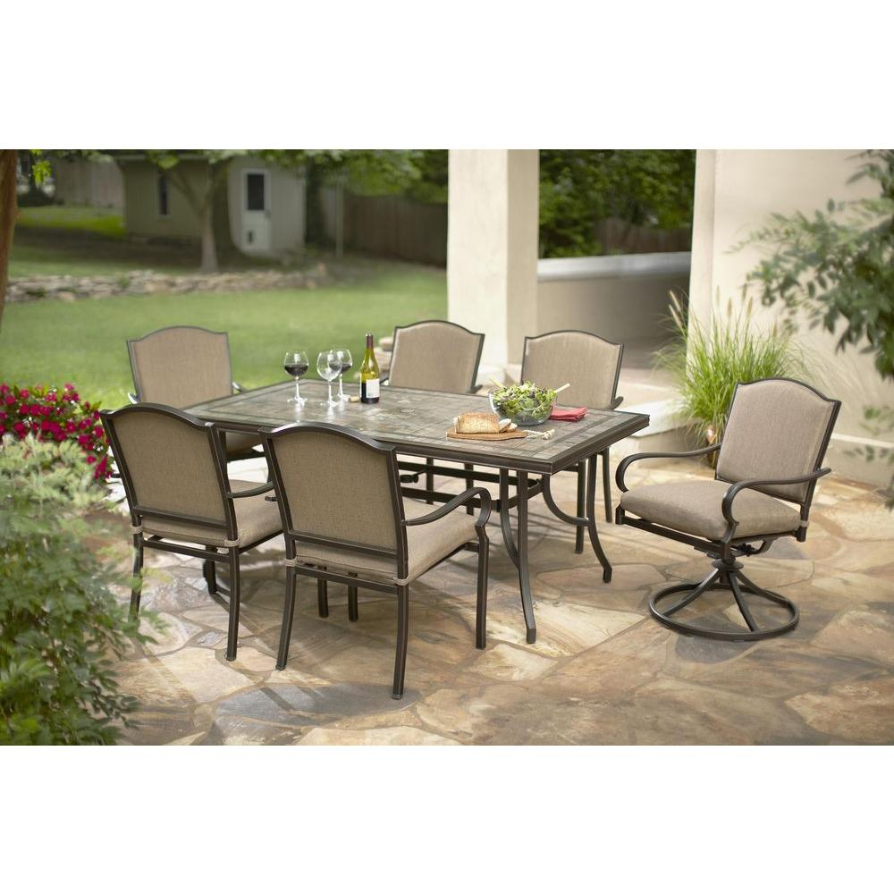 Home Depot Outdoor Patio Furniture Dining Sets