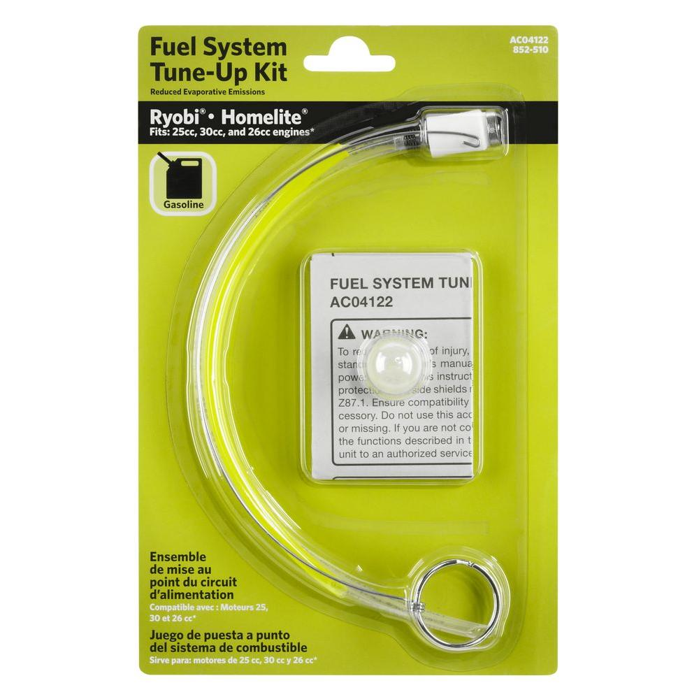 medium resolution of ryobi fuel line and primer bulb tune up kit