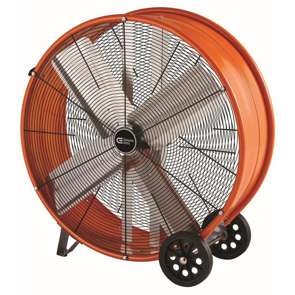 hight resolution of heavy duty 2 speed direct drive drum fan