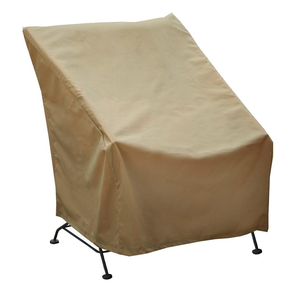 chair covers long back folding chaise lawn chairs seasons sentry high cover cvp01433 the home depot