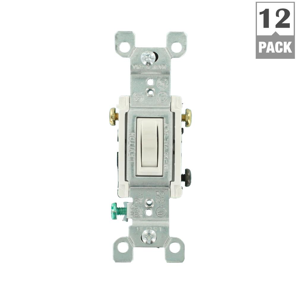 Leviton 15 Amp Combination Double Switch Wiring Diagram