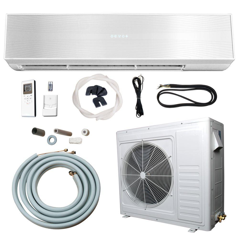 hight resolution of 24 000 btu 2 ton ductless mini split air conditioner and heat pump 220v 60hz