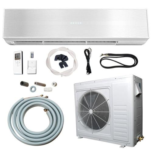 small resolution of 24 000 btu 2 ton ductless mini split air conditioner and heat pump 220v 60hz
