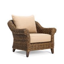 Blue Oak Bahamas Wicker Outdoor Lounge Chair With