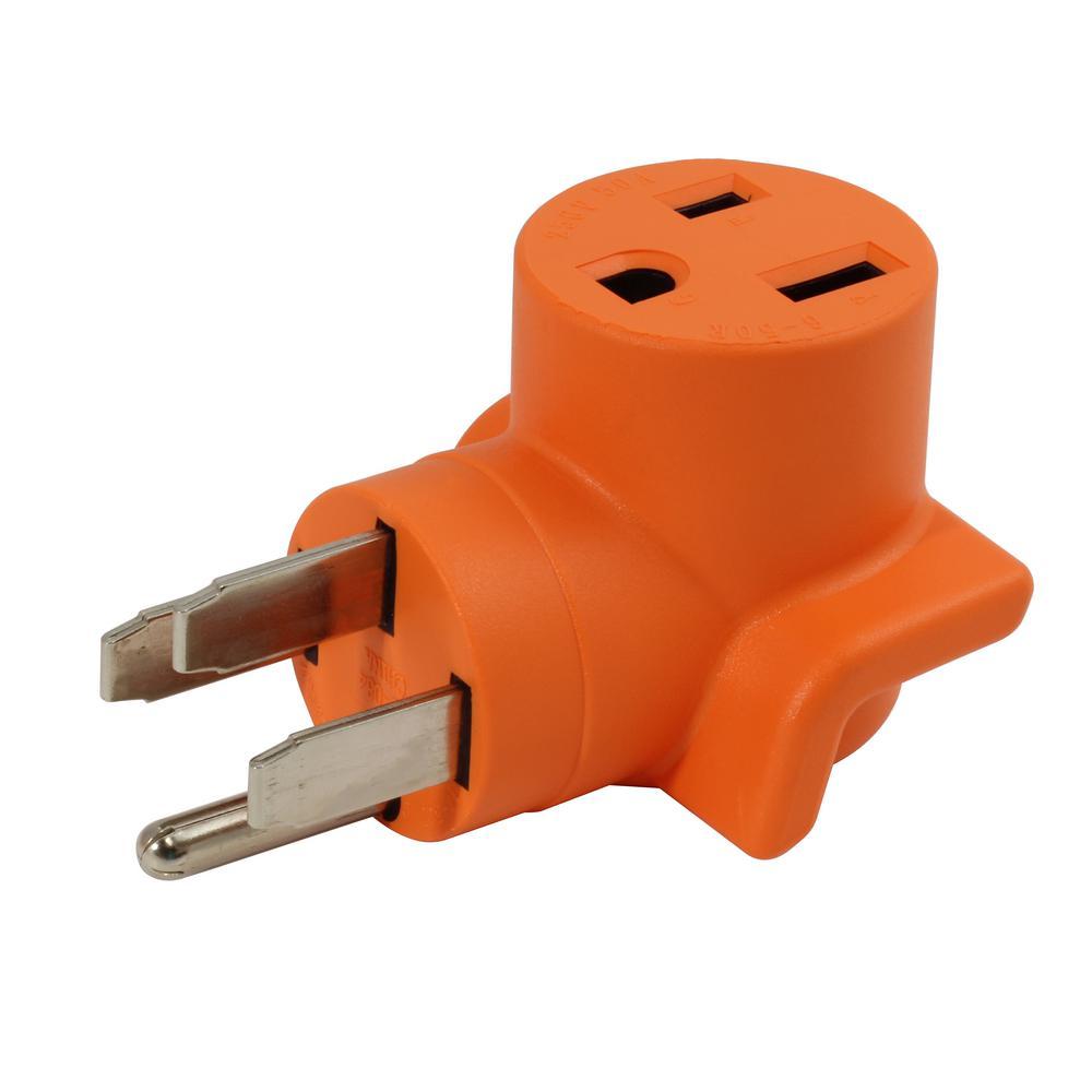 medium resolution of ac works 50 amp rv range generator 14 50 plug to 6