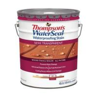 Thompson's WaterSeal 5 gal. Semi-Transparent Sequoia Red ...