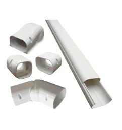 cover kit for air conditioner and heat pump line sets ductless mini split or central [ 1000 x 1000 Pixel ]