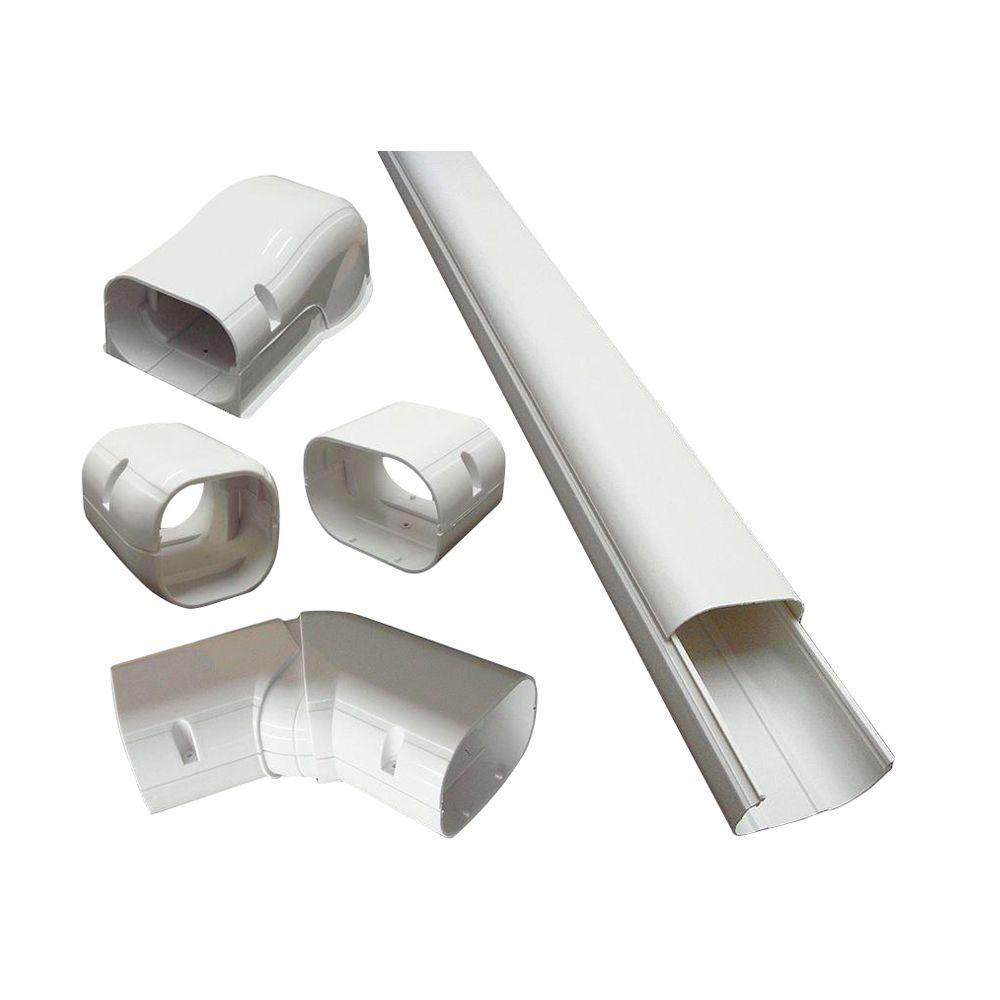 medium resolution of cover kit for air conditioner and heat pump line sets ductless mini split or central