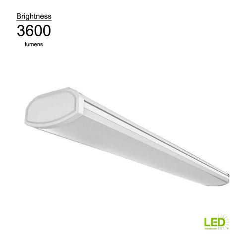 small resolution of bright and cool white linear led direct wire powered low profile wrap flushmount ceiling light fixture