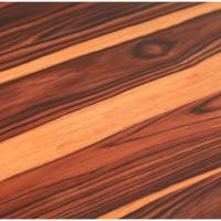 TrafficMASTER Allure 6 in. x 36 in. African Wood Dark