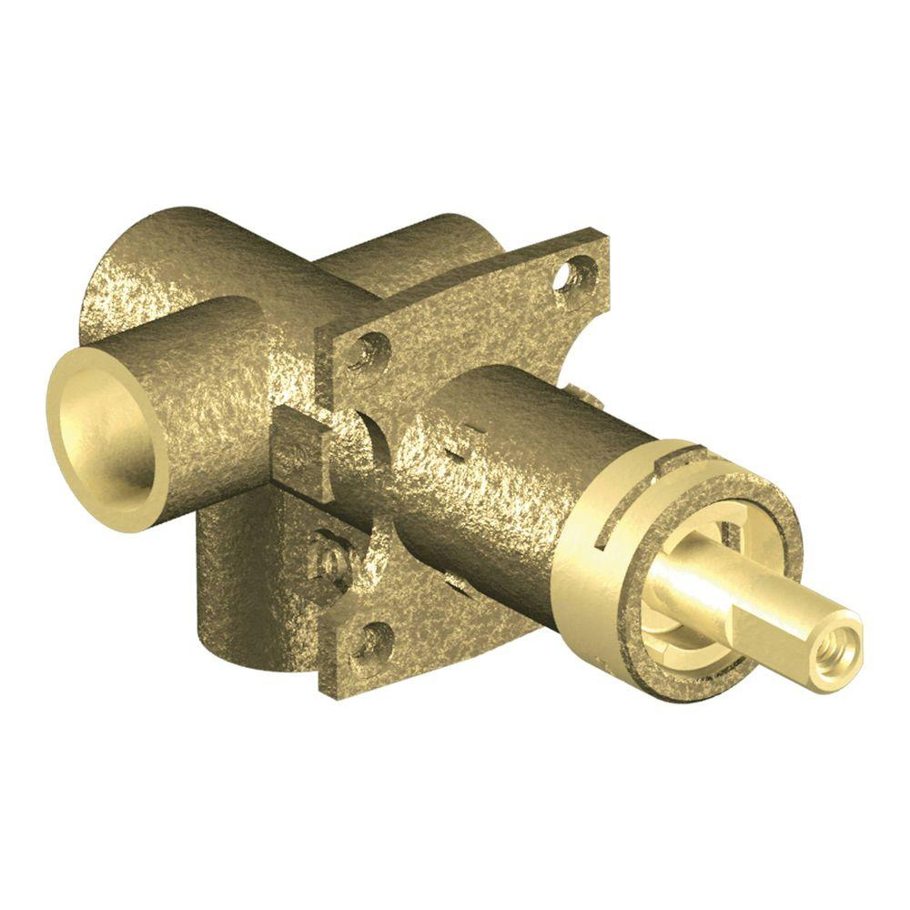 medium resolution of moen brass rough in 3 function transfer shower valve 1 2 in cc moen piping diagram