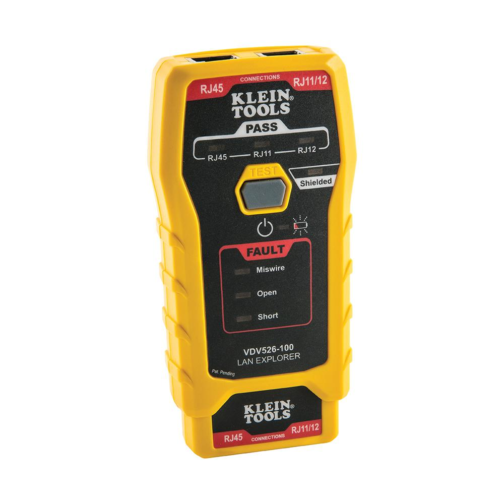 medium resolution of lan explorer data cable tester with remote