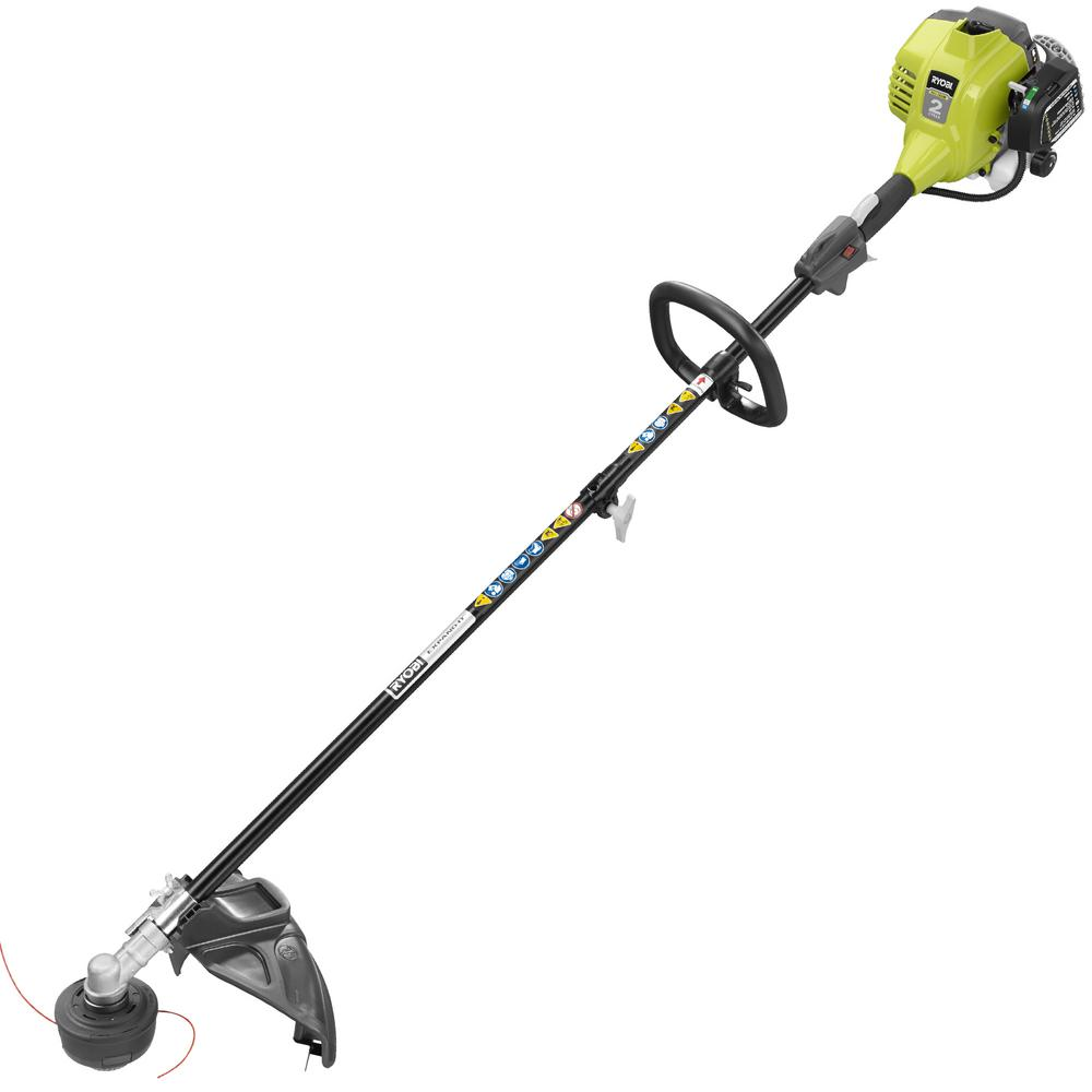 hight resolution of ryobi 25cc 2 cycle attachment capable full crank straight gas shaft string trimmer