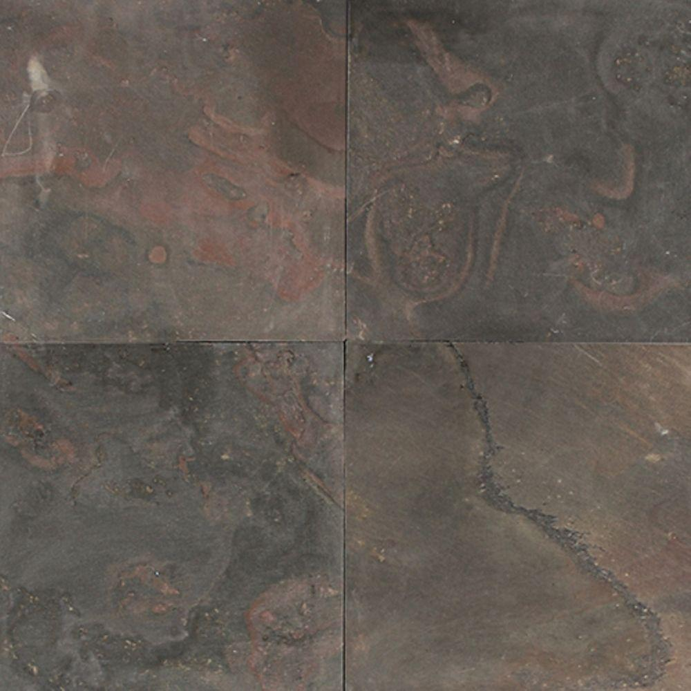 Daltile Natural Stone Collection Indian Multicolor 12 in
