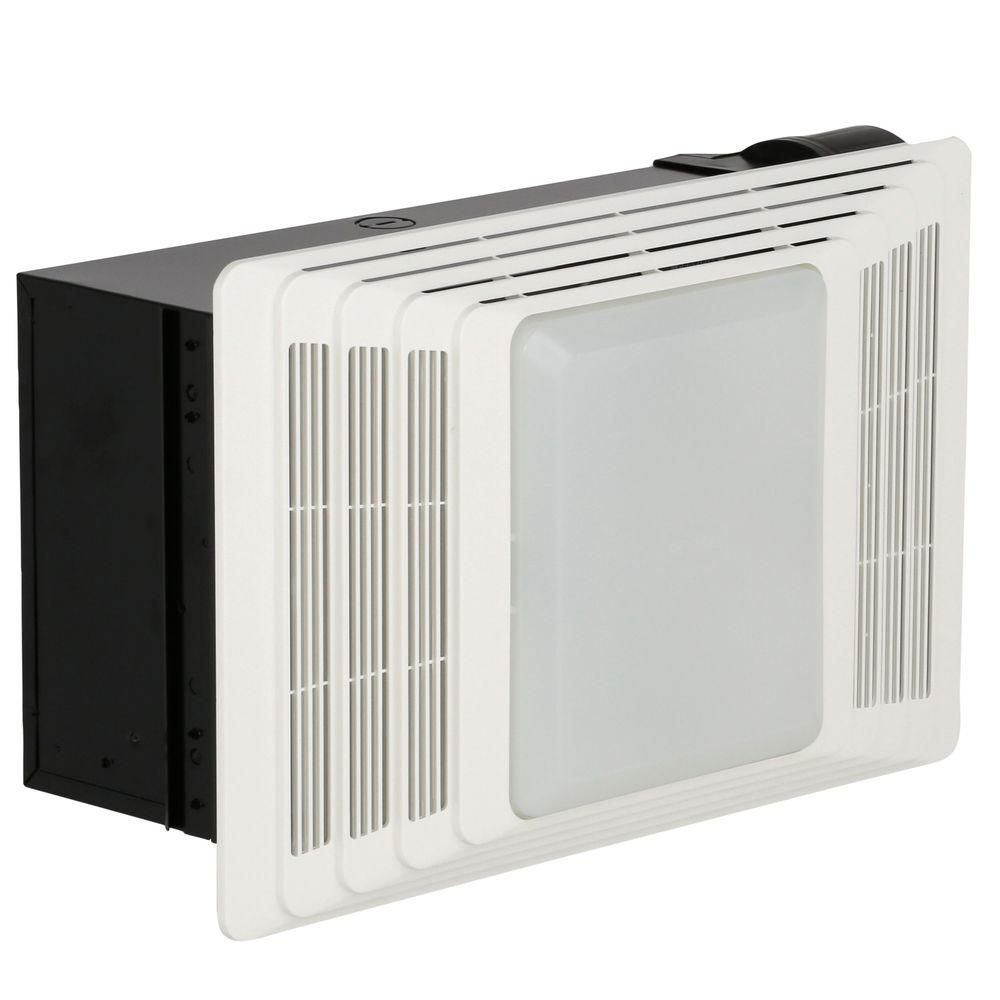 medium resolution of broan 100 cfm ceiling bathroom exhaust fan with light 696 the home nutone bath fan wiring