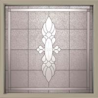 Hy-Lite 49.75 in. x 49.75 in. Decorative Glass Fixed Vinyl ...