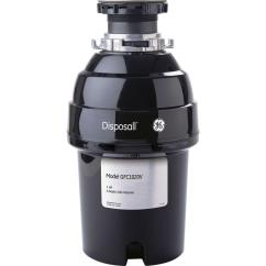 Kitchen Disposal Industrial Supplies Ge 1 Hp Continuous Feed Garbage Gfc1020v The Home Depot