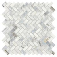 Daltile Stone Decor Fog 11 in. x 12 in. x 10 mm Marble ...